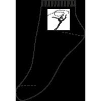 СН-09 Носки спортивные, с гимнасткой (упаковка 6 шт)