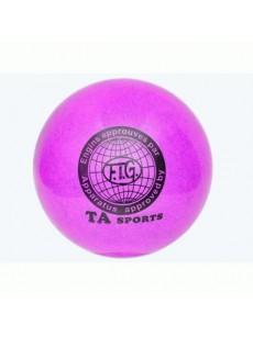 Мяч гимнастический с блеском
