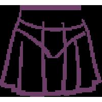ДЮ 120 Юбка-сетка на резинке