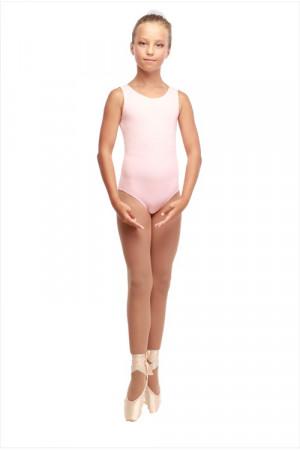 Г 13-301 Ф Купальник гимнастический (хлопок) Цвет фламинго