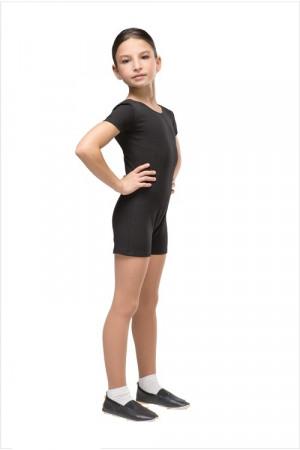Г 08-301 Комбинезон гимнастический укороченный, короткий рукав