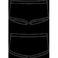 Т 15-351 Трусы-шорты для девочек.  Для спорта и повседневного пользования.